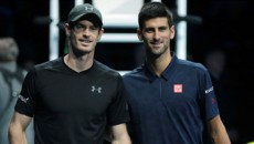 Murray, Djokovic