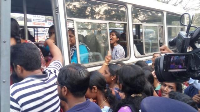 strike of nurses