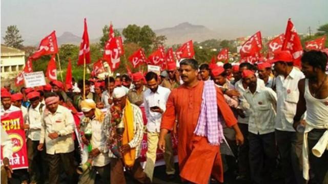 Farmer's Protest in Maharashtra