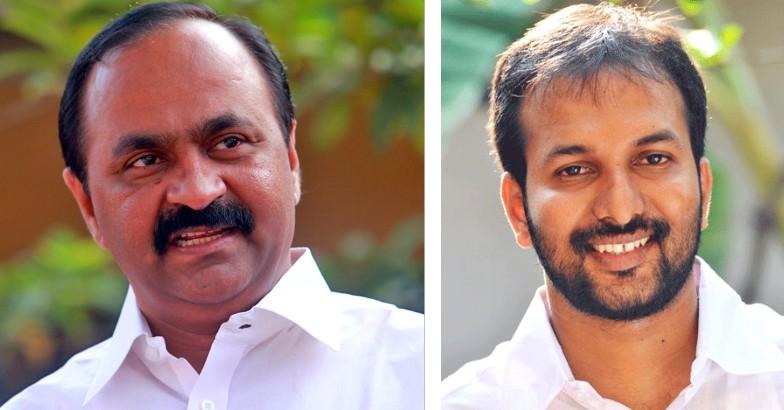 VD Satheesan and PC Vishnunath