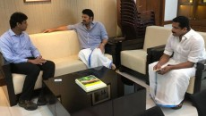 Mammootty and Dulquar