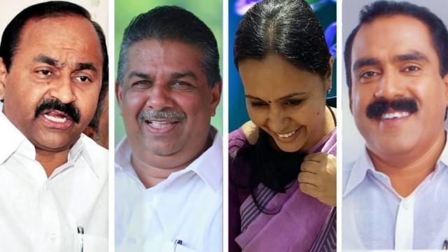 Anwar Sadat, Saji Cherian, Veena George, VD Satheeshan