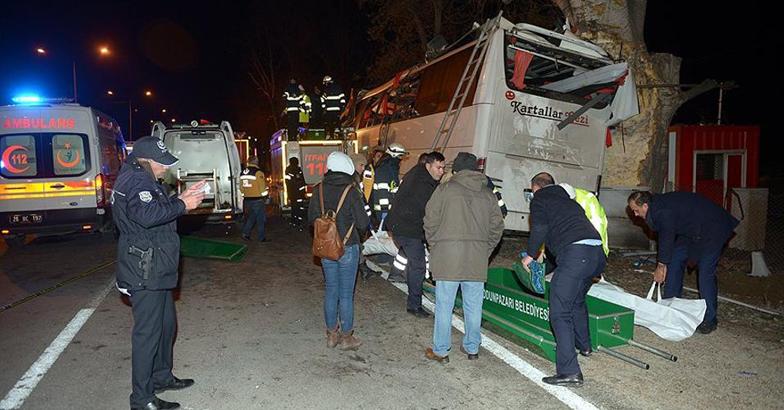 Turkey ,Bus crash