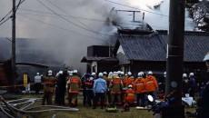 SDF helicopter crashes in Saga Pref.