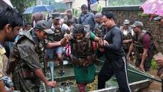 kerala flood force
