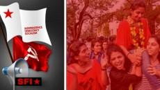 BJP-RSS,ABVP,SFI