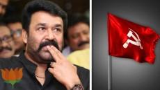 CPM - DYFI,Mohanlal,BJP-RSS